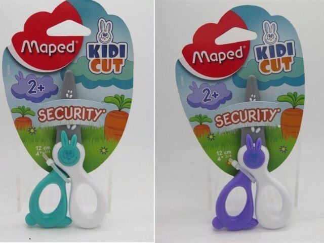 1 x Maped Kidicut Kid Safe Scissors 12cm 2+ Years  8037800