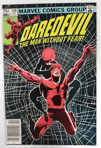 DAREDEVIL-Vol-1-188-1st-Printing-CANADIAN-Newsstand-1982-Marvel-Comics
