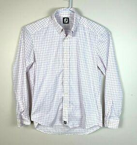 Footjoy-Button-Down-Dress-Shirt-Men-039-s-Size-Large