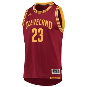 cheaper 4bc48 2da92 Details about LeBron James adidas Wine Swingman Jersey Kids Small Youth  Cleveland Cavaliers