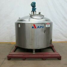 Apv Crepaco 500gal Insulated Stainless Steel Mixing Tank
