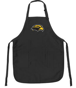 Southern-Miss-Apron-BEST-USM-APRONS-Men-Ladies-LARGE-w-POCKETS-Adj-Neck