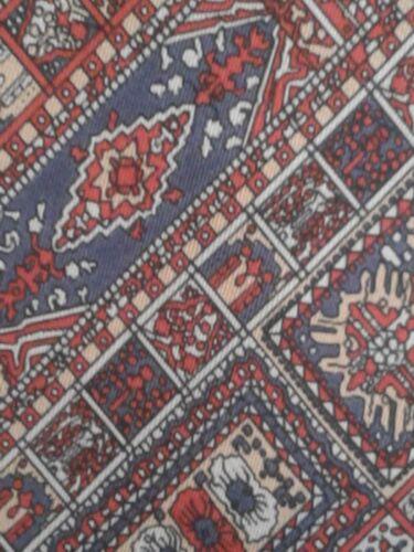 Mens Vintage Necktie Red Pattern Tiberius TIE Boar