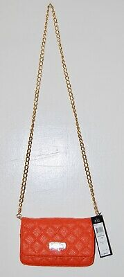 $98 BCBG Paris Crossbody Bag Black with Gold Chain Strap New withTags