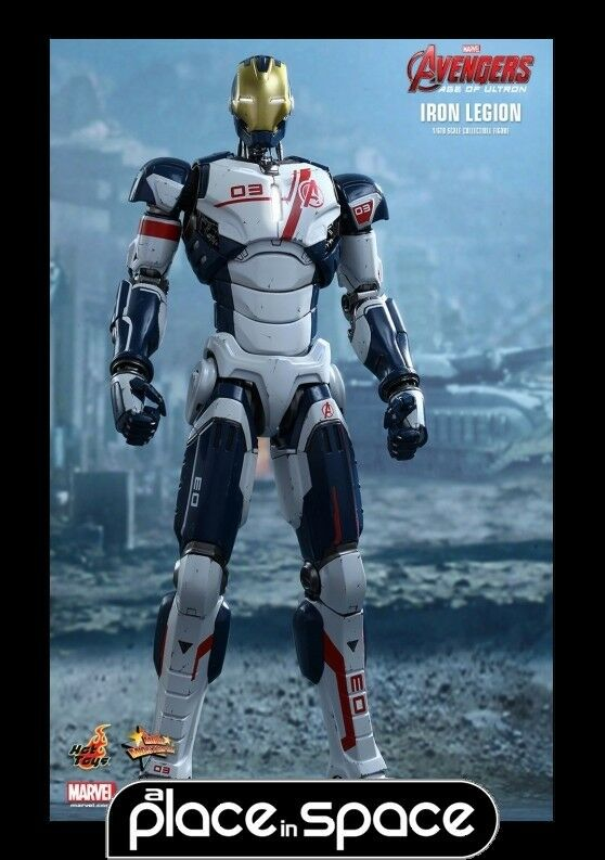 HOT TOYS - AVENGERS AGE OF ULTRON IRON LEGION 1:6 SCALE FIGURE