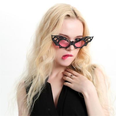 Novelty Party Sunglasses Black Bat Shaped Eye Glasses Costume Photo Props