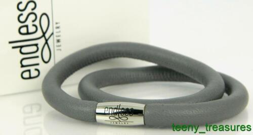 Endless Grey Double Bracelet