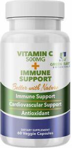Vitamin C 500mg + Zinc + Turmeric + Vitamin D3 + Vitamin B6,12 IMMUNE SUPPORT US