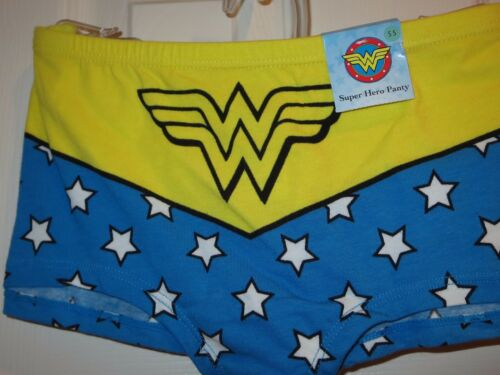Wonder Woman boy shorts underwear panty panties NEW 5 6 7 8 9 S M L XL  XXL