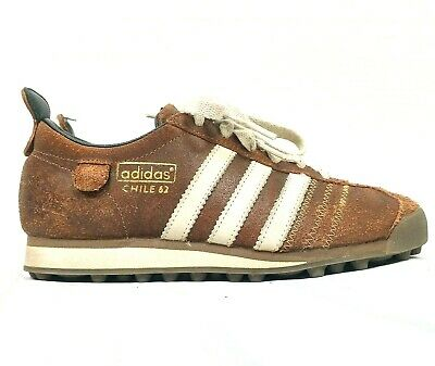 Adidas Chile 62 Shoe Men Size 4.5 Brown Athletic Sneakers Trainers Futbol Soccer | eBay