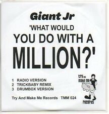 (159K) Giant Jr, What Would You Do With A Million DJ CD
