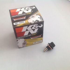 para-NISSAN-PULSAR-GTIR-k-amp-n-FILTRO-DE-ACEITE-Magnetico-Tapon-de-carter