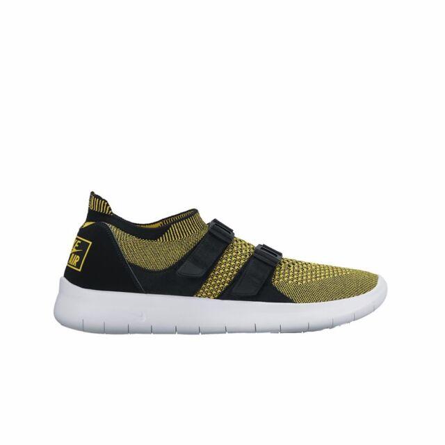 830f3739ba347e Nike Air Sock Racer Flyknit Sz 7 Yellow Black White 896447-003 ...