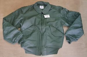 New-NOMEX-MA2-Sage-Green-CWU-45P-Cold-Weather-Flyers-Jacket-Military-Issue-Small