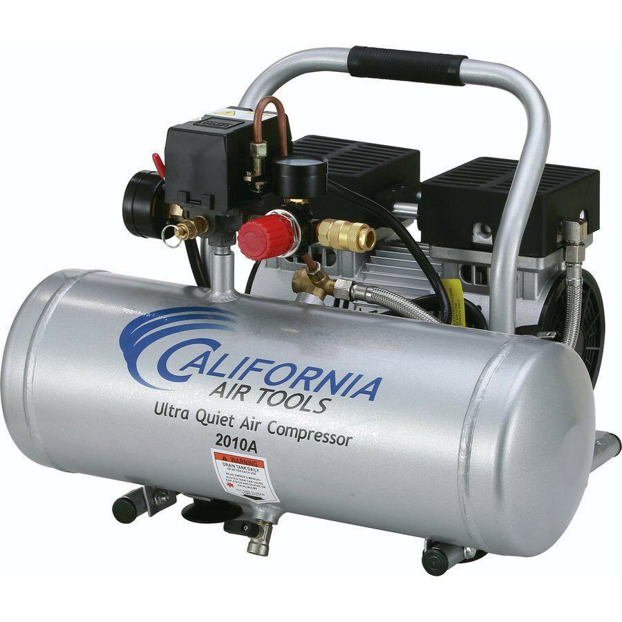 California Air Tools 2010A 1 HP 2 Gal. Aluminum Air Compressor CAT-2010A New