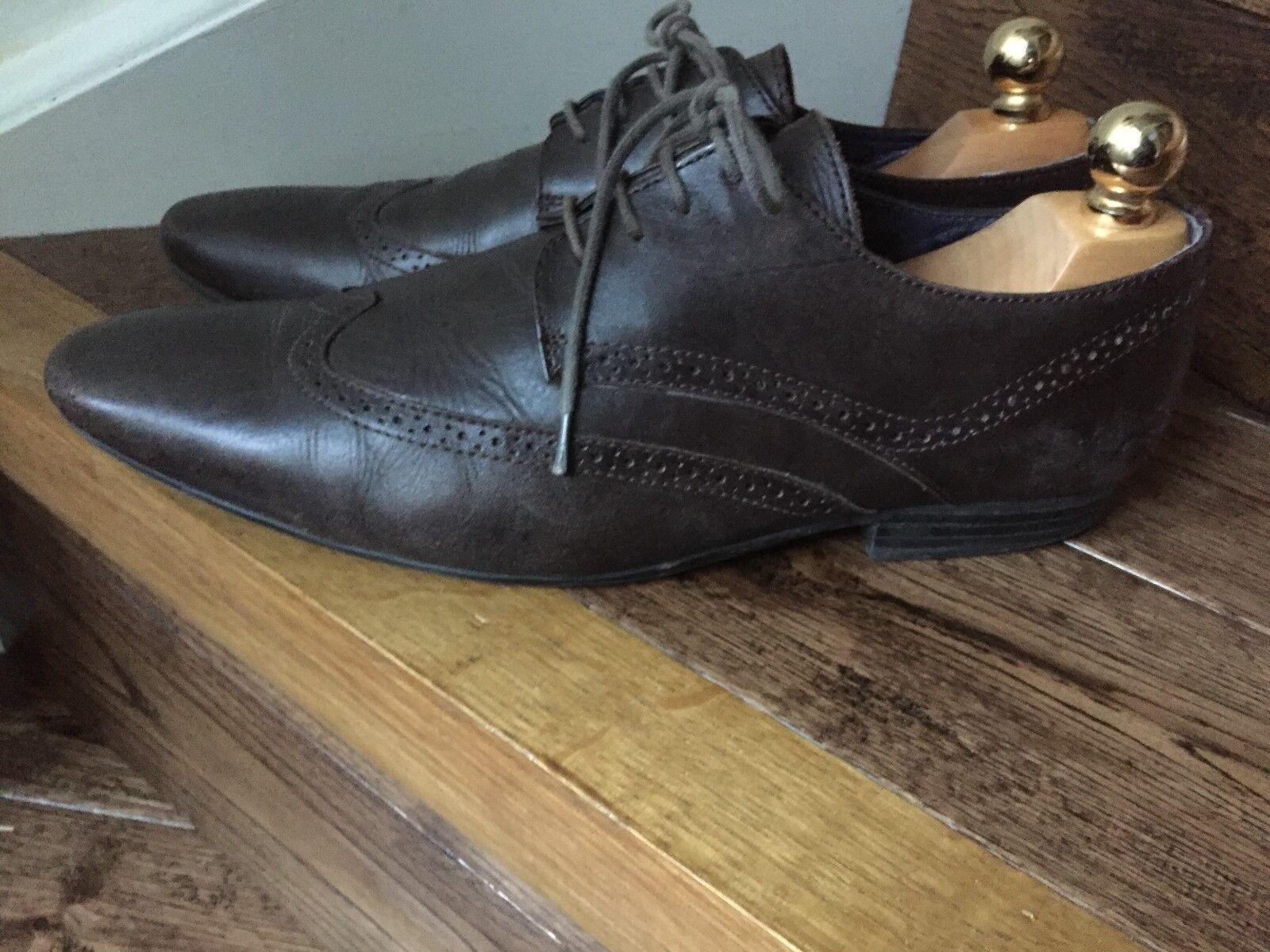Pair of 'KURT Men's & GEIGER' Men's 'KURT Leather Shoes. b38a55