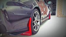 Rally Armor 2015-2017 Subaru WRX & STI Sedan UR Mud Flaps Red w/ White Logo