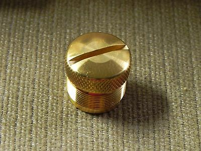 solid brass. End plug for Crosman 2240-50-60 and 2300T