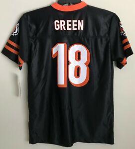 Details about New Cincinnati Bengals AJ Green #18 Youth Football Jersey Boy's Kids Shirt A. J.