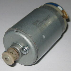 Electric motor with plastic gear 12 v dc 2400 rpm for Johnson electric dc motors