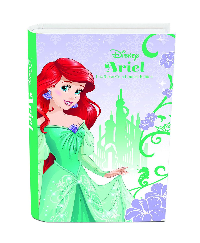 2015 Niue 1 oz Silver $2 Disney Princess Ariel SKU #89838