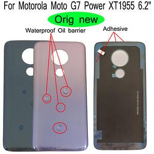 Oem 6 2 For Motorola Moto G7 Power Xt1955 Rear Back Door Battery Cover Adhesive Ebay