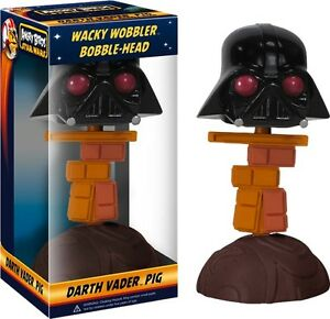 Angry-Birds-Star-Wars-Darth-Vader-Piggy-Wacky-Wobbler-Bobble-Head-Figure-NEW