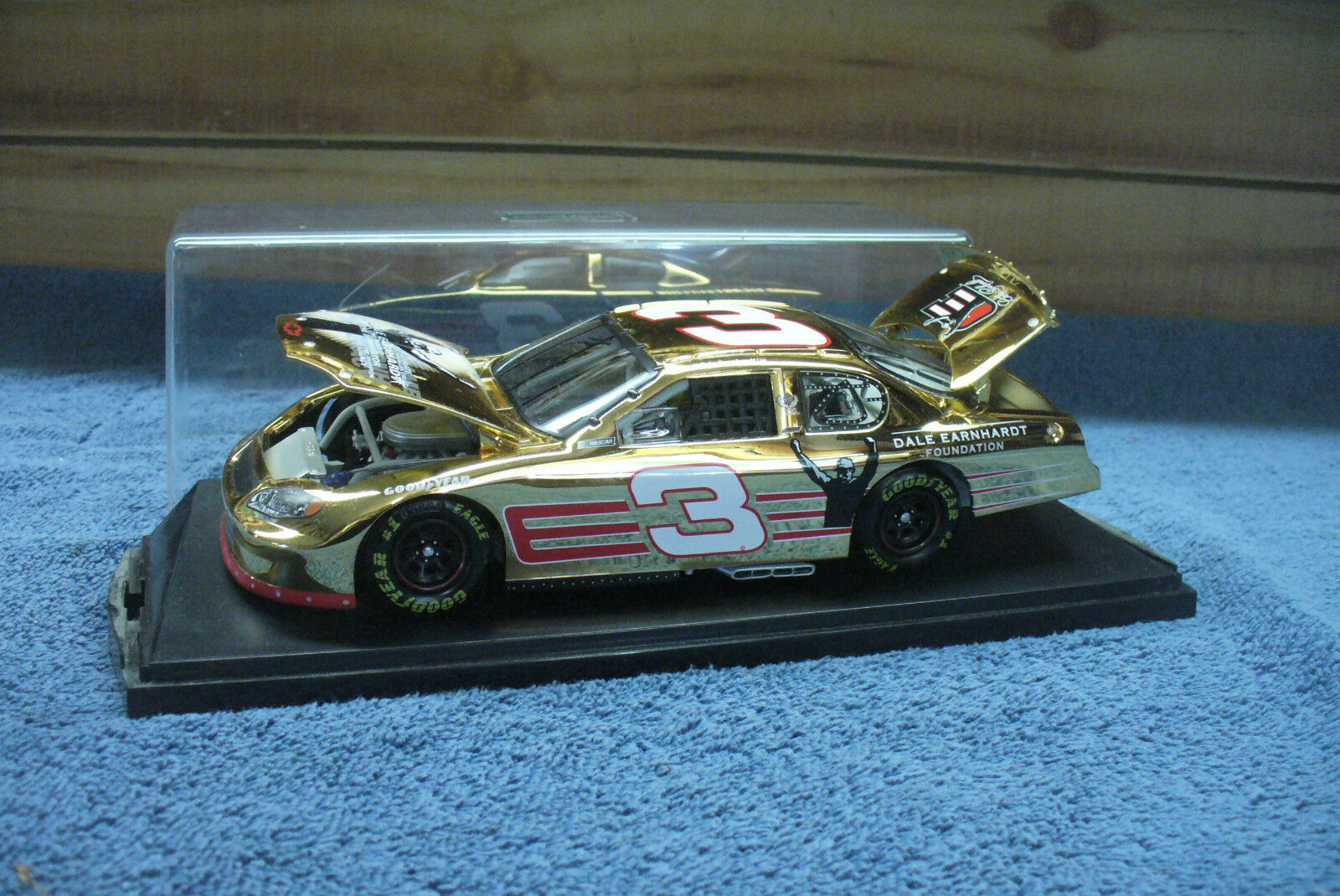 Dale earnhardt action foundation 1 24 24 24 scale 24k gold limited 3333 24d13f