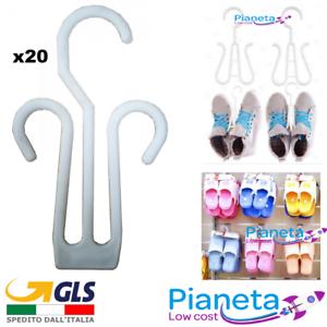 20pz-Grucce-per-Sandalo-Scarpe-Pantofole-esposizione-arredo-negozio-allestimento