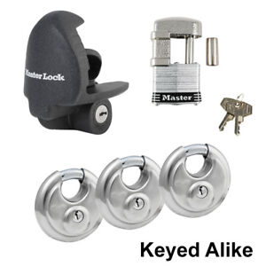 65dd0313df1e Details about Master Lock - 5 Trailer Locks Keyed Alike 5KA-37940-37