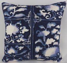 Ralph Lauren Home Fabric Indigo Blue Navy Pillow Cushion Cover