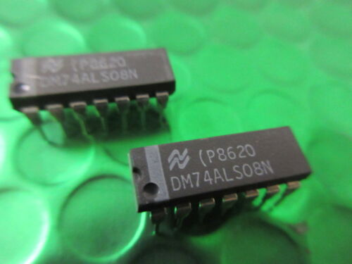 DM74ALS08N 74ALS08 IC GATE AND 4CH 2-INP 14-DIP **5 PER SALE** Only £0.65p ea