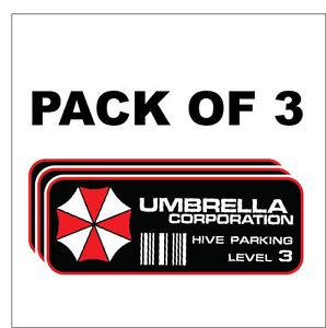 Umbrella-Corporation-Hive-Parking-Level-3-Resident-Evil-Zombie-Decal-Sticker