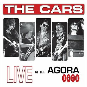 The-Cars-LIVE-AT-THE-AGORA-1978-Limited-Edition-RSD-2017-New-Etched-Vinyl-2-LP