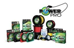 POWERPRO-BRAIDED-FISHING-LINE-4-30-40-50-65-80-GREEN-amp-WHITE