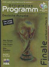 Orig.Komplette PRG     Weltmeisterschaft  DEUTSCHLAND 2006 - FINALE AUSGABE  !!