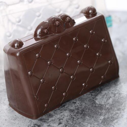 3D Plastic Sugarpaste Fondant Mould Baking Mold Chocolate Cake Tools Decor Q
