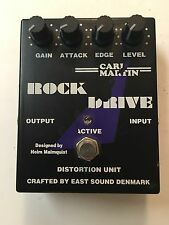 Carl Martin Rock Drive Analog Distortion Unit Overdrive Guitar Effect Pedal