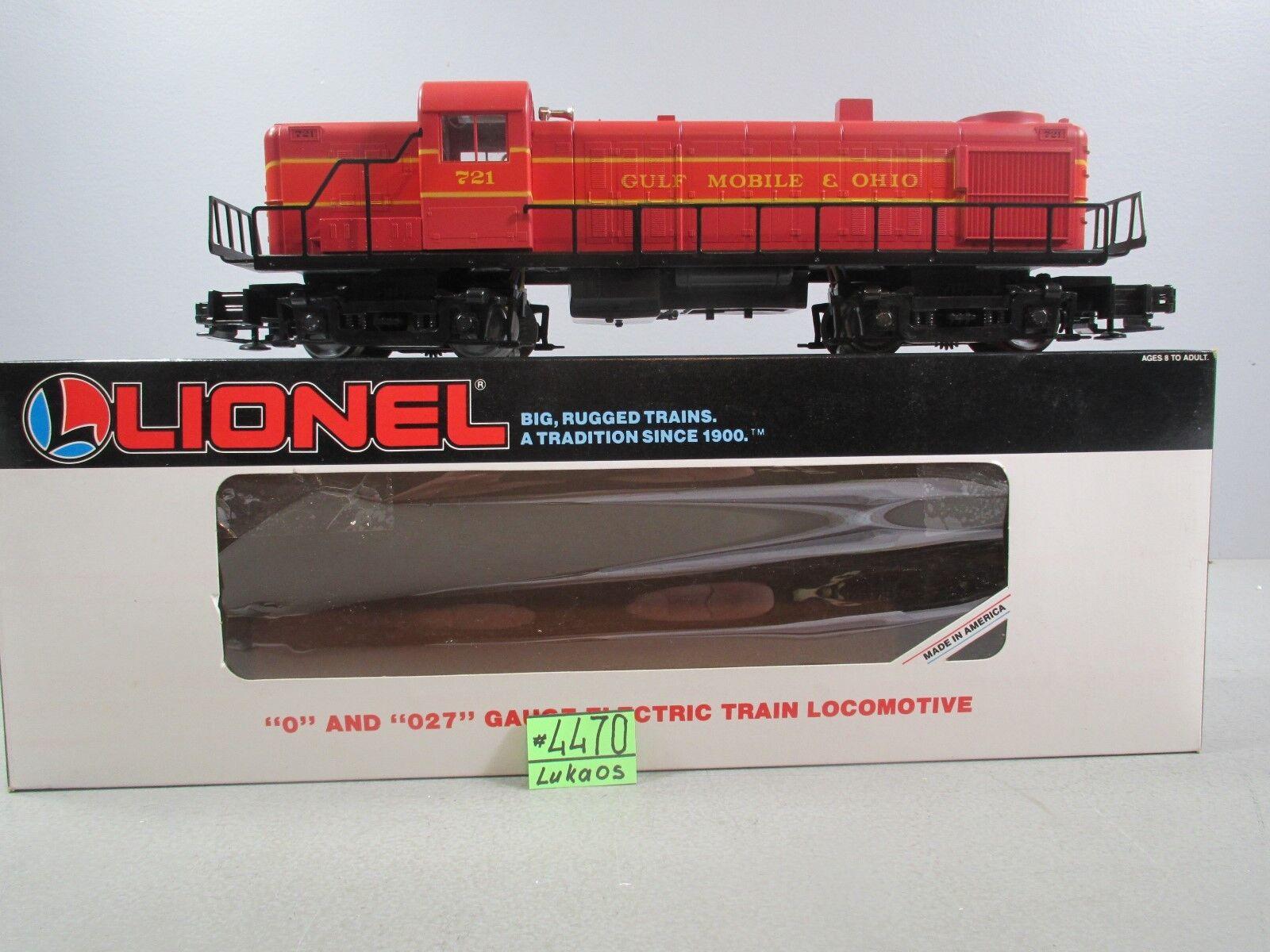 LIONEL 6-18554 GULF MOBILE & OHIO RS-3 DIESEL ENGINE OB