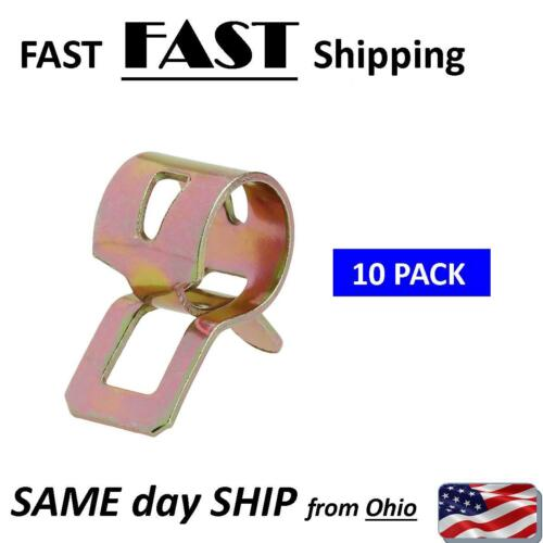 air tube fastener // water hose clamp small hose fastener spring clip