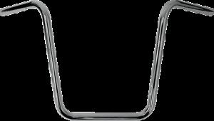 Drag Specialties 1in Handlebar with 12in Narrow Ape Hanger Bend 0601-4192