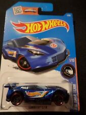 HW HOT WHEELS 2016 HW RACE TEAM #1/10 CORVETTE C7.R  BLUE HOTWHEELS VHTF