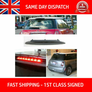 Image Is Loading Led Smoked Tailgate Brake Lamp Fits Bmw Mini