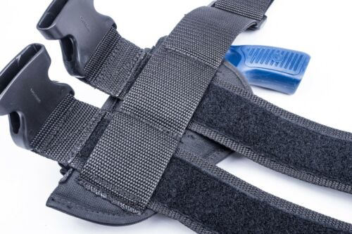 """H/&R 622 2.5/""""Tactical Drop Leg Thigh Holster w// Round Loops"""