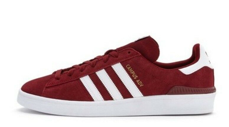 Adidas campus adv red new style suede  B22714