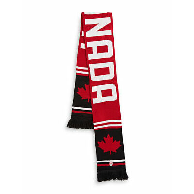 PyeongChang 2018 Team Canada Olympic Adult Game Scarf - NEW