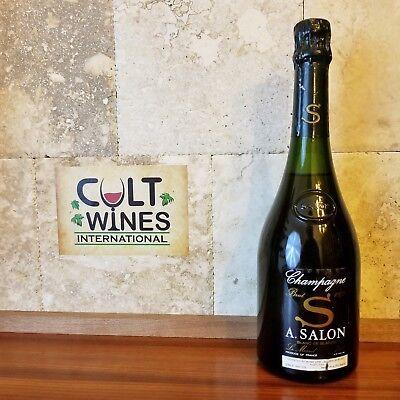 1973 A. Salon Cuvee 'S' Le Mesnil Blanc de Blancs Champagne wine. Ultra Rare.