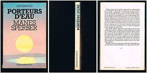 Ces-temps-la-Porteurs-d-039-eau-Manes-Sperber-1976-238-pages-23-x-15-cm