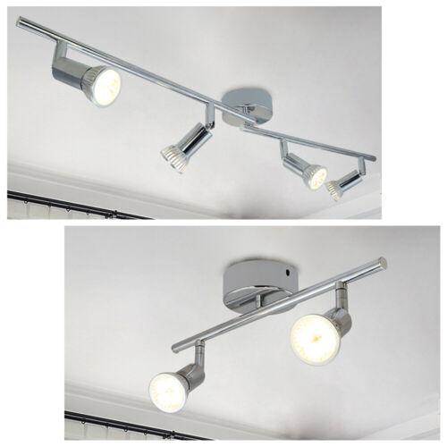 LED Deckenleuchte GU10 Wandlampe Strahler Wandspot Wohnzimmer Drehbar Lampe Spot
