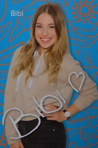 Bianca Heinicke Autogrammkarte Bibi Autogramm Youtube Bibis